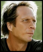 William Fichtner Painting by Sheridan-J