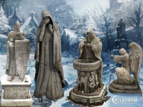 Holystatues by PaleVirus