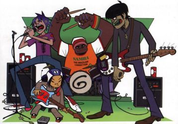 oh yes, its the Gorillaz :3 by GorillazFanClub23