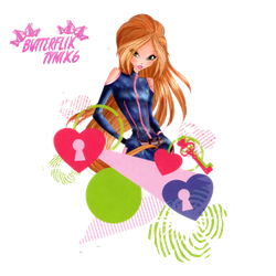 Flora World of Winx Spy official png by ButterfixTynix6