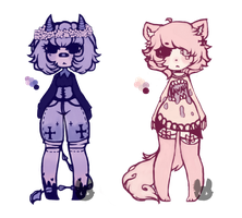 Color Pallete Adopts (Open) by Ivorette-Adoptables