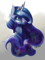 Luna Painting by Nalenthi