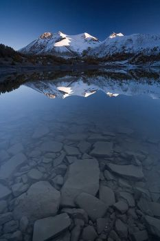 Reflexion at Allos... by vincentfavre