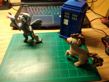 Derpy Hooves (Ditzy) clay figure. by pointfiftytracer