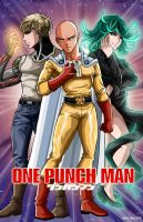 One Punch Man by FantasiesAndFathoms