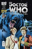 Doctor Who: Prisoners of Time #5 Variant Cover by RobertHack