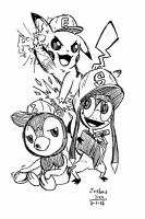 The 3 Little Campers by Josh-S26