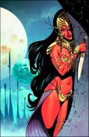 John Carter : Warlord Of Mars # 3 Variant cover by NeerajMenon