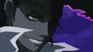 Tyki's grin by hadasg