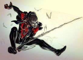 Spider-Man Miles Morales (DQS) by emmshin
