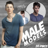 PNG PACK #2 - Random Male Models by rudimentarily