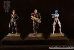 MassEffect miniatures by Michael-XIII