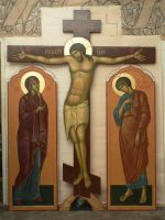 Crucifixion of the Lord by yellika