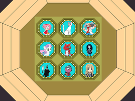 Another $ale Fame Game board, late 1983 by FromEquestria2LA