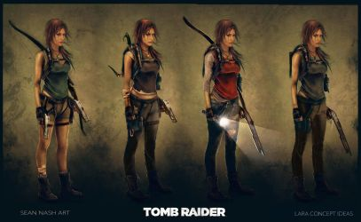 Tomb Raider - Lara Concept Ideas by SeanNash