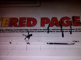 Bleeding page by EsBest