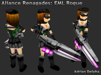 Alliance Renegades: EML Rogue by DelphaDesign