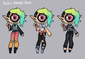 [outfit set] - KayzieRaichu [2/2] by hello-planet-chan