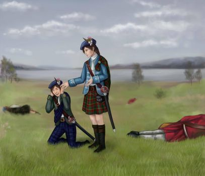Battle Of Prestonpans By Aluvian Art by Jacobite1