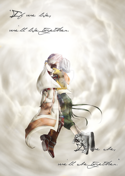 LR: FFXIII - We'll Be Together by ShadowMeowth