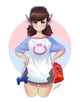 Casual D.va ) by JeoMona
