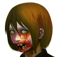 zombie girl3 by itoman2010