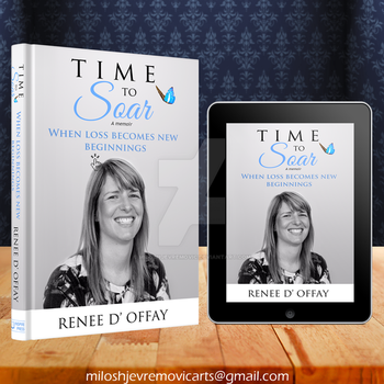 Book Cover Design for Time to Soar by MiloshJevremovic