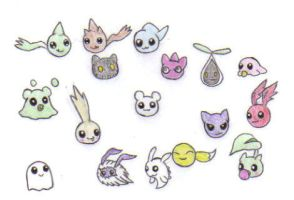 Baby Digimon Collage by KessieLou