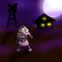 Courage the Cowardly Dog by CrossoverGamer