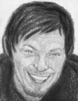 Norman's big smile by gagambo