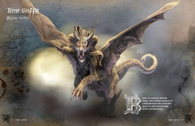 Terror Griffin by bobgreyvenstein