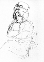 Drink and Draw 6/11 by Sylverthorne