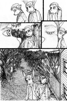 Issue 2: Page 4 inks by Benjamin-the-Fox