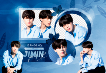 PNG PACK: Jimin #18 (BTS 5TH ANNIVERSARY) by Hallyumi