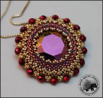 Stardust Pendant by GoodQuillHunting
