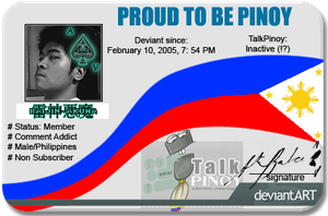 TalkPinoy ID by TheALVINtaker
