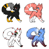 Feline/cat adopts (CLOSED) by bumbleteaa
