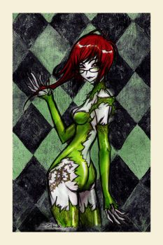 poison_ivy. by rotten-and-diseased