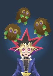 Yugi and the Kuribohs by Vallicht