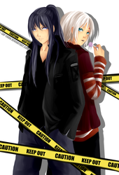 DGM - Keep Out by Lap-chan