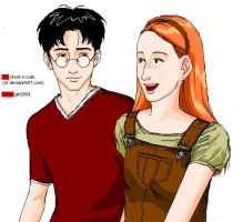 Harry and Ginny :Version 2: by girl2004
