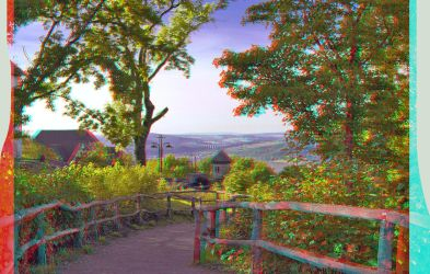 Sunset Light ::: Anaglyph 3D : by zour