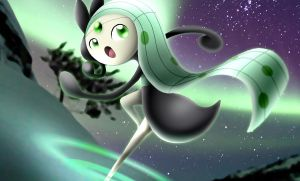 Shiny Meloetta Aria Form by neo-cscdgnpry