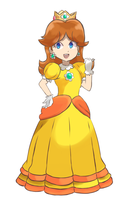 Super Mario Bros - Princess Daisy by chocomiru02