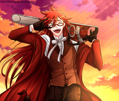 Grell Sutcliff by namisiaa