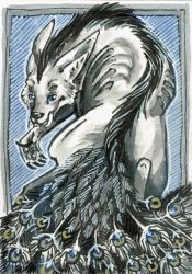 .:ACEO:. for Dodgesmiley by Atteo