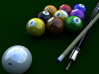3d billiard ball by jaymarific