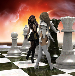 Checkmate: The Queen's Gambit by CatfightKing
