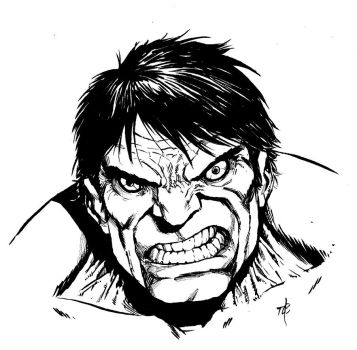 Classic Incredible Hulk by toze-barnabe