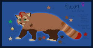 Rhudd Reference by TheFacelessFool